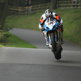Flying High by Richard Howlett - Sports & Fitness Motorsports ( olivers mount, road racing, wheelies, superbike. )