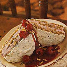 Double-Decker Rhubarb Ice Cream Sandwiches