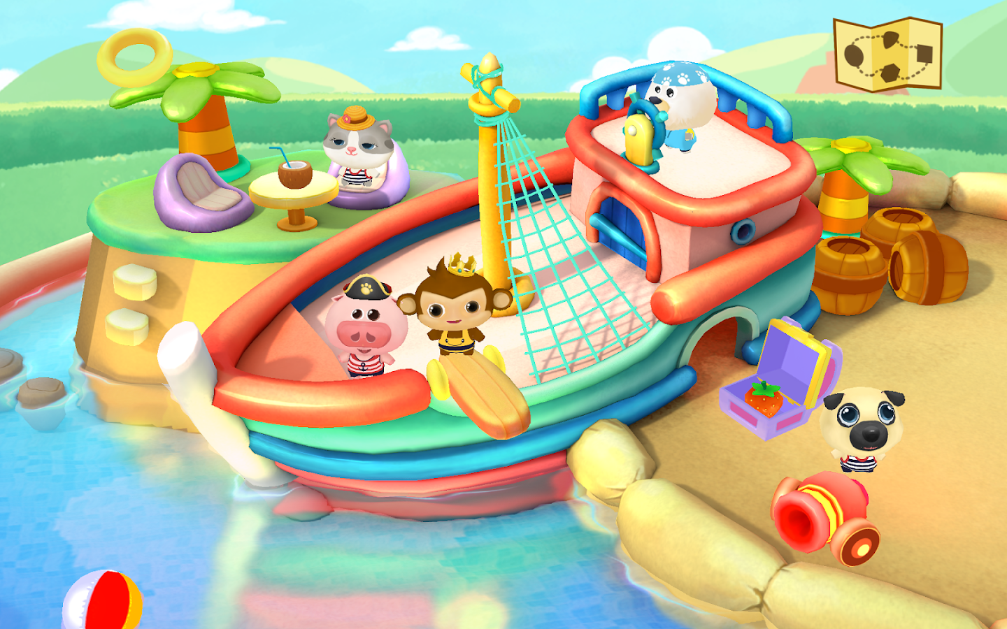 Dr. Panda's Swimming Pool Screenshot 15