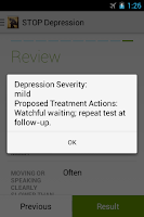 Screenshot of STOP Depression