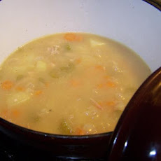 Dutch Oven Chicken Soup