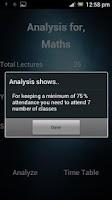 Screenshot of Attendance App