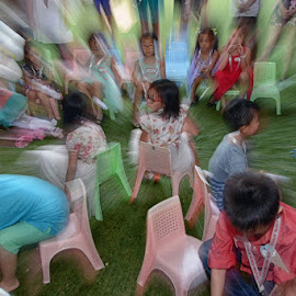 play the game by Edi Sujana - People Group/Corporate ( grass, happy, play, kids, party )