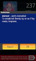 Screenshot of WordTwist Free
