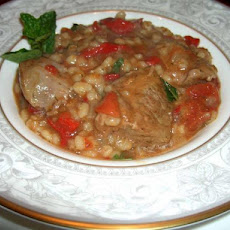 Crock Pot Lamb Stew With Barley