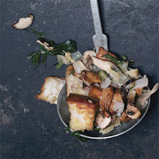 Wild Mushroom and Spinach Stuffing