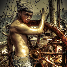 Pirates Of The Mediteranean by Marko Stošić - People Portraits of Men