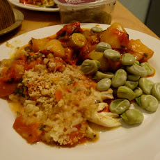 Briami (Greek Oven-Roasted Vegetables)