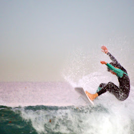 surfer by Arnaud Charil - Sports & Fitness Surfing ( v, b, c, a, surf )
