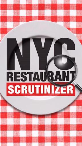 NYC Restaurant Scrutinizer