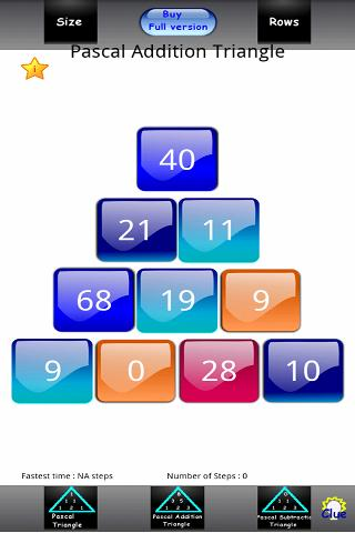 Numbers Triangle Lite