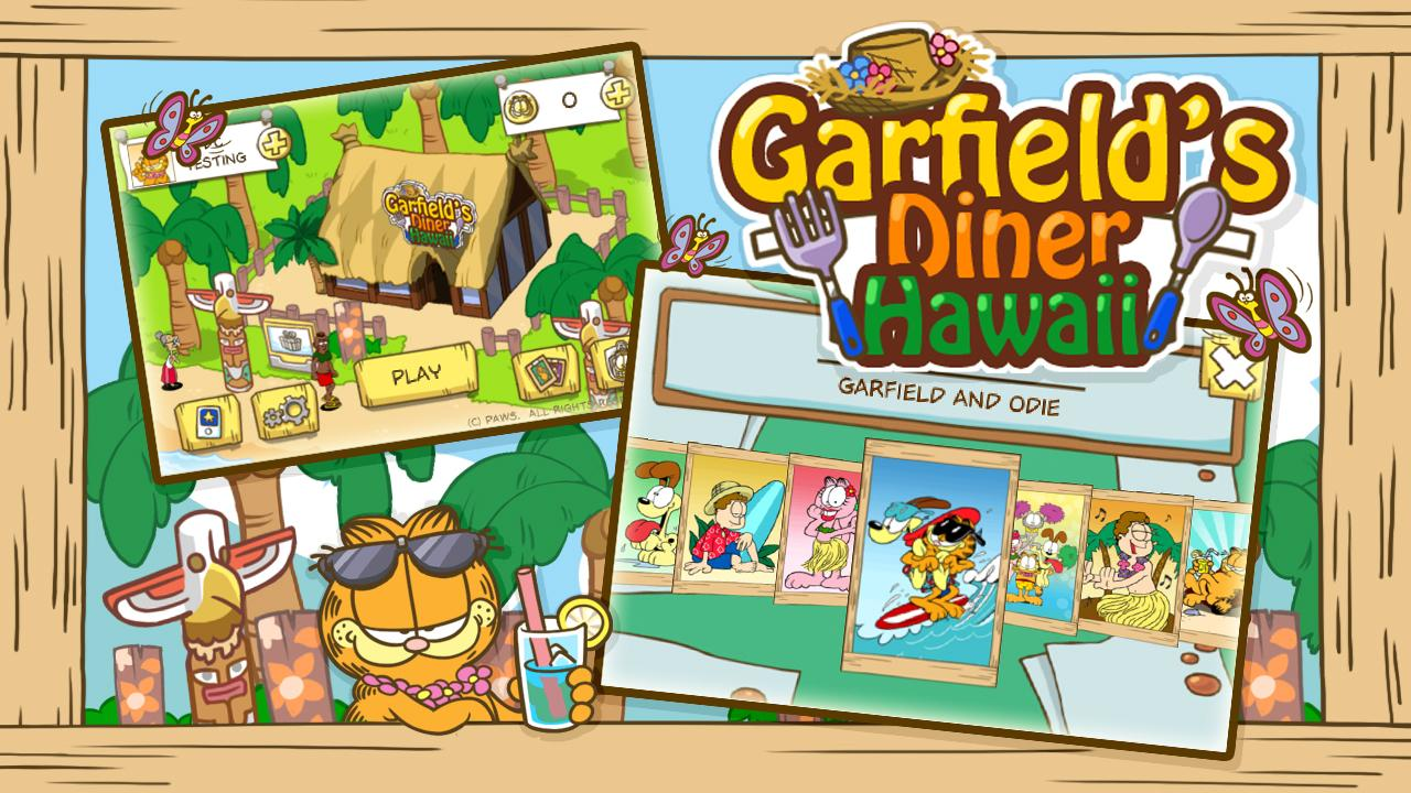 Garfield's Diner Hawaii Screenshot 3