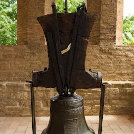 Old bell by Gheorghe Dragos - Artistic Objects Antiques ( antiquity, history, bell, old, antique )