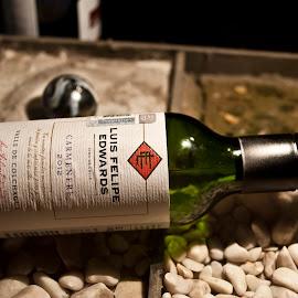 Little Bottle of Wine by Sergio Yorick - Food & Drink Alcohol & Drinks ( wine, alcohol, drink, object, bottle,  )