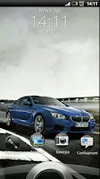 Screenshot of BMW M6 Coupe Live Wallpaper