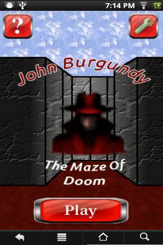 Demo - Burgundy Maze of Doom