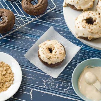 Gluten Free Dairy Free S'Mores Doughnuts
