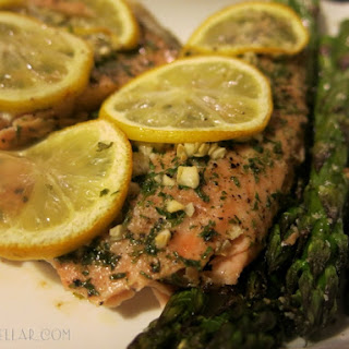 Roasted Salmon With Asparagus Recipes