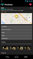 Screenshot of Weedmaps