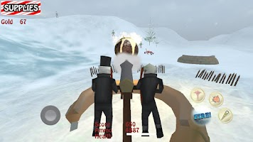 Screenshot of Santa vs Zombie Pirates