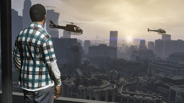 Grand Theft Auto V PS4 version is real
