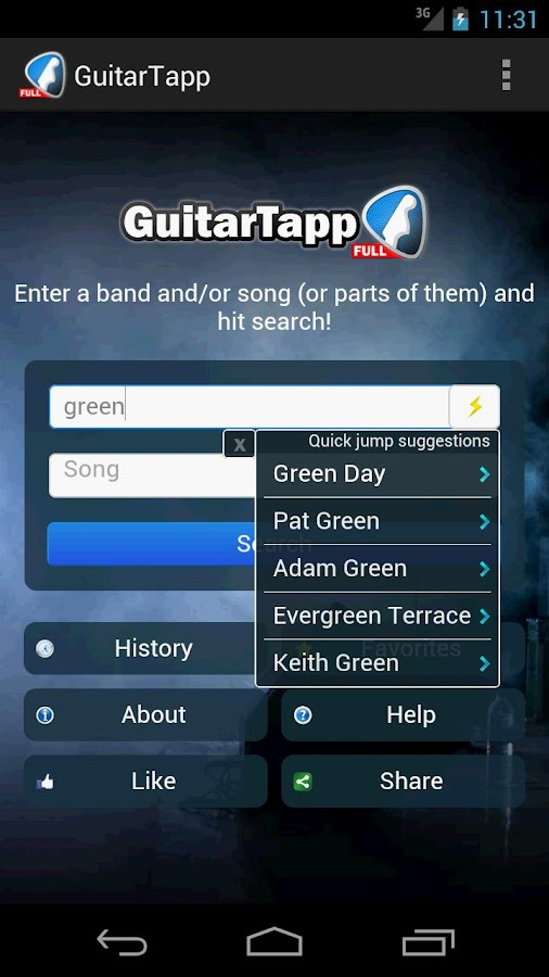 GuitarTapp PRO - Tabs & Chords Screenshot 0