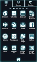 Screenshot of Glow Go Launcher Ex Theme