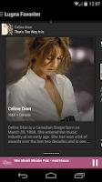 Screenshot of Lugna Favoriter