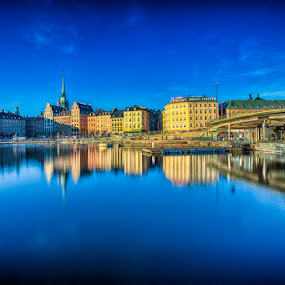 Gamla Stan by CK Lam - City,  Street & Park  Historic Districts ( sweden, stockholm, scandinavia, old town, gamla stan, cityscape, södermalm, city )