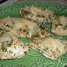 Baked  Chicken Breasts With Cheese