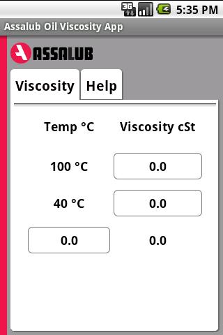 Assalub Oil Viscosity App