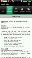 Screenshot of Séance Radio
