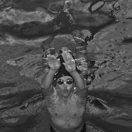 Swim team by Cameron Knudsen - Sports & Fitness Swimming