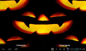 Screenshot of Halloween Pumpkins LWP
