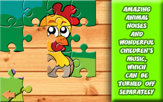 Screenshot of Barnyard Puzzles for Kids