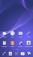 Screenshot of eXperian-Z3 Theme -KK Launcher