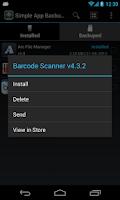 Screenshot of Simple App Backup Restore