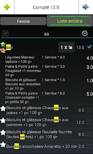 Screenshots  Le Journal Diète Watchers