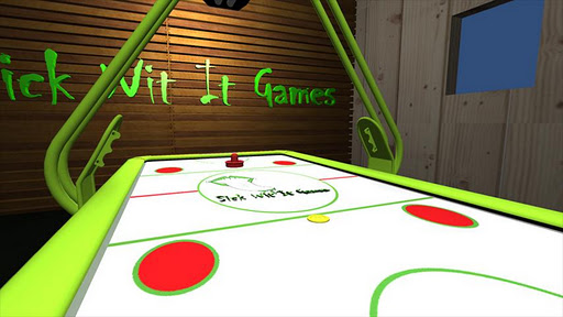 3d-air-hockey for android screenshot
