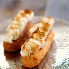 lemon meringue Eclair, recipe of the genius' Eclair