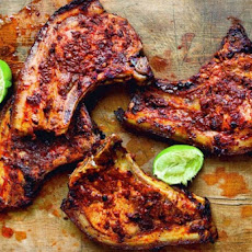 Adobo Marinated Pork Chops Recipe