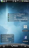 Screenshot of Anton's Calendar Widget