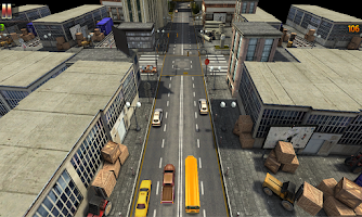 Screenshot of School Bus Joyride Racing 3D