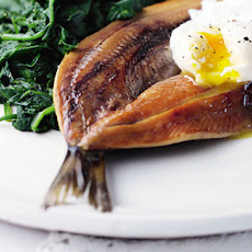 Kippers with eggs - Florentine-style