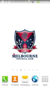 Melbourne FC Spinning Logo - screenshot