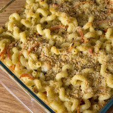 Cavatappi with Fontina & Fall Vegetables