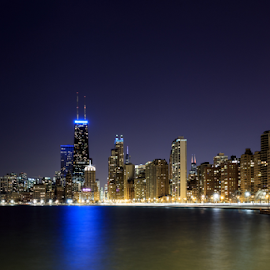 Chicago by Shawn Conrad - City,  Street & Park  Skylines