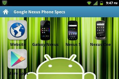 Nexus Specs [DISCONTINUED]