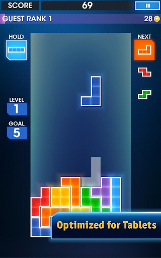 TETRIS - screenshot