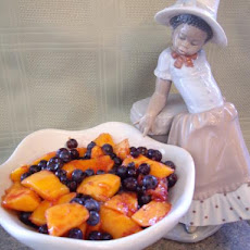 Blueberry and Mango Fruit Salad